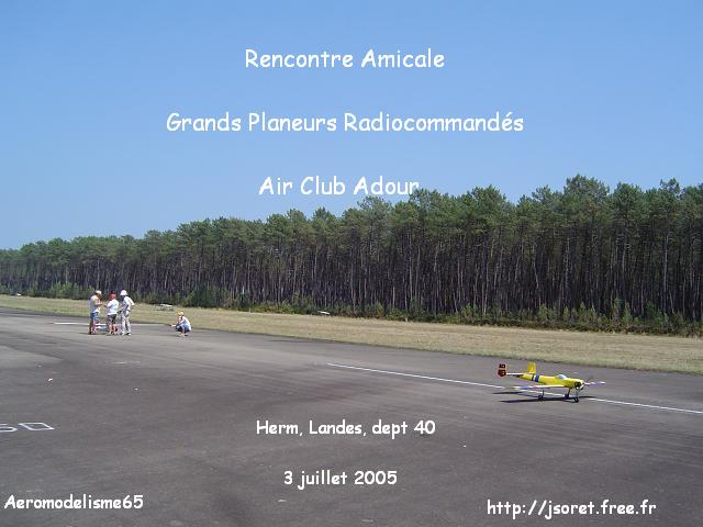 Rencontre Amicale Grands Planeurs Radiocommand�s